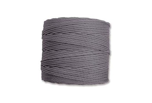 Super-Lon Bead Cord 70mt. Grey 0,5mm
