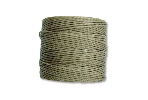 Super-Lon Bead Cord 70mt. Khaki 0,5mm