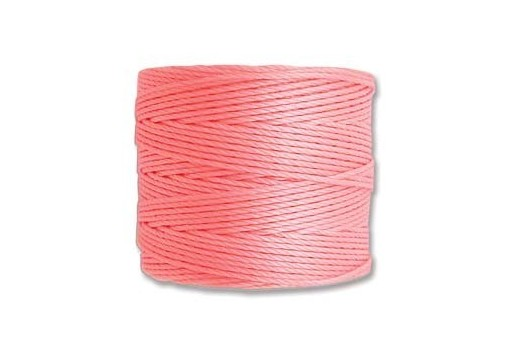 Super-Lon Bead Cord 70mt. Light Pink 0,5mm SL-LPI