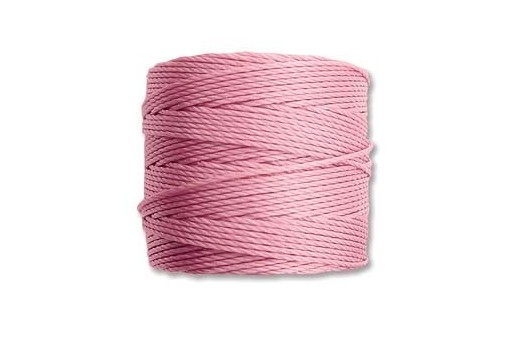 Super-Lon Bead Cord 70mt. Rose 0,5mm SL-RO