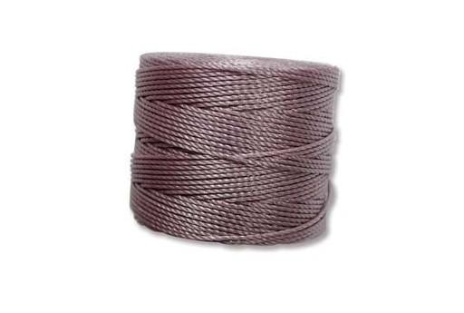 Super-Lon Bead Cord 70mt. Dark Lavender 0,5mm SL-LADK