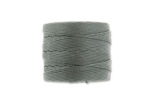 Super-Lon Bead Cord 70mt. Gunmetal 0,5mm SL-GU