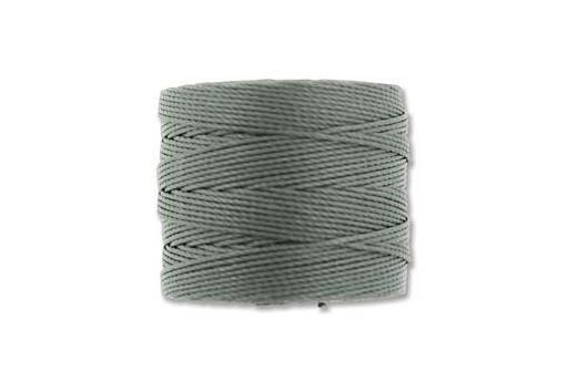 Super-Lon Bead Cord 70mt. Gunmetal 0,5mm SL-GU