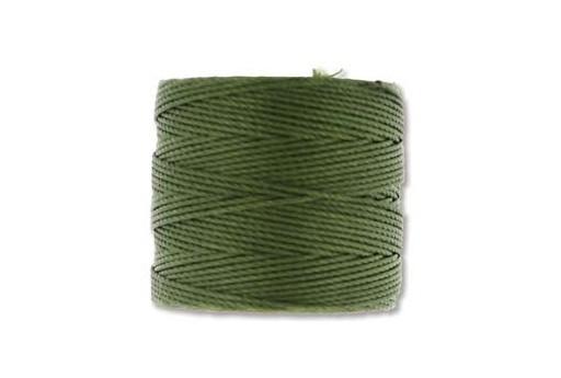 Super-Lon Bead Cord 70mt. Olivine 0,5mm OLV