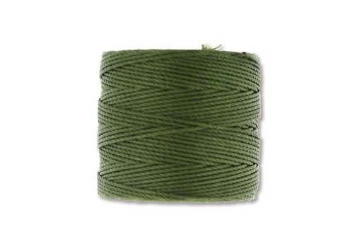 Super-Lon Bead Cord 70mt. Olivine 0,5mm OLV