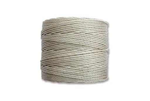 Super-Lon Bead Cord 70mt. Light Grey 0,5mm LGY
