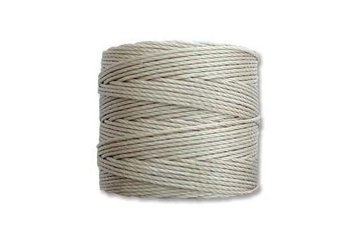 Super-Lon Bead Cord 70mt. Light Grey 0,5mm LGY