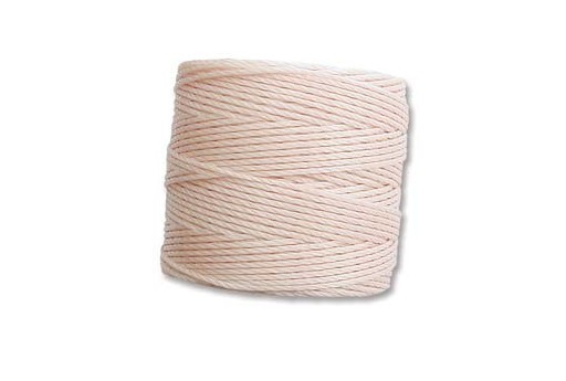 Super-Lon Bead Cord 70mt. Natural 0,5mm NAT