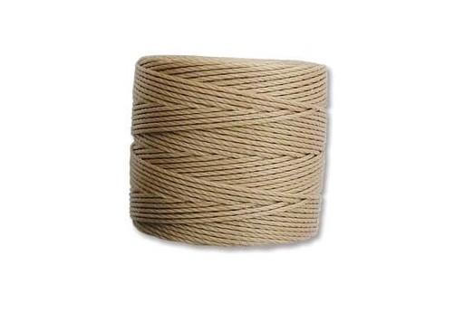 Super-Lon Bead Cord 70mt. Light Brown 0,5mm LBR