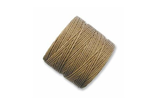 Super-Lon Bead Cord 70mt. Medium Brown 0,5mm MBR