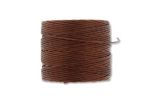 Super-Lon Bead Cord 70mt. Mahogany 0,5mm MA