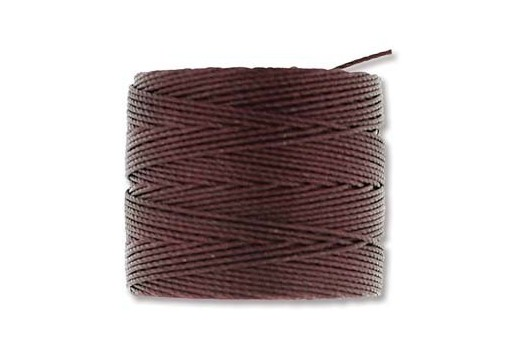 Super-Lon Bead Cord 70mt. Burgundy 0,5mm BU