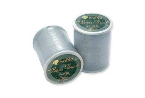 SONO Beading Thread Grey 100m