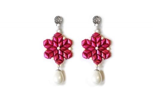 Kit Orecchini Gocce di Primavera Pink