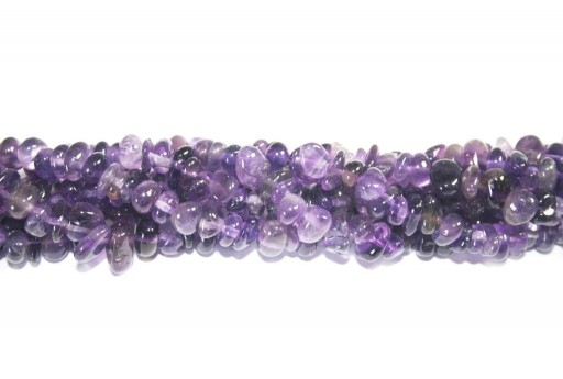 Amethyst Nuggets Beads 5x8mm - 80pcs