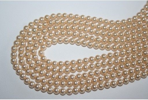 Swarovski Pearls Light Gold 5810 4mm - 20pcs