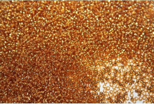 Perline Toho Silver Lined Topaz 15/0 - 100gr