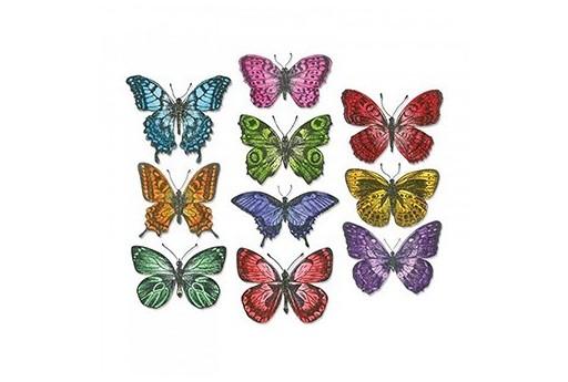 Framelits Dies Flutter Butterflies Tim Holtz Alterations Sizzix
