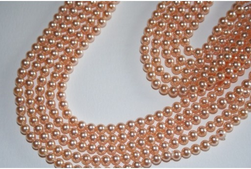 Perle Swarovski Peach 5810 4mm - 20pz