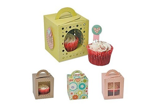 Fustelle Thinlits PLUS Scatola Cupcake Sizzix