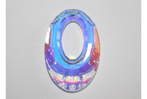 Pendente Swarovski Helios Crystal AB 30mm 6040