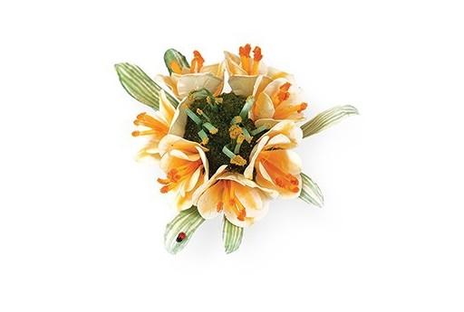 Thinlits Dies Clivia  Flower Susan's Garden Sizzix