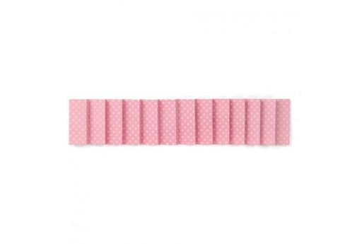 Sizzlits Die Decorative Strip Pleated Ruffle 3D n.2 Sizzix