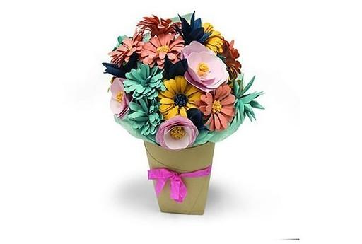Fustella BigZ L Bouquet di Fiori Katelyn Lizardi Sizzix