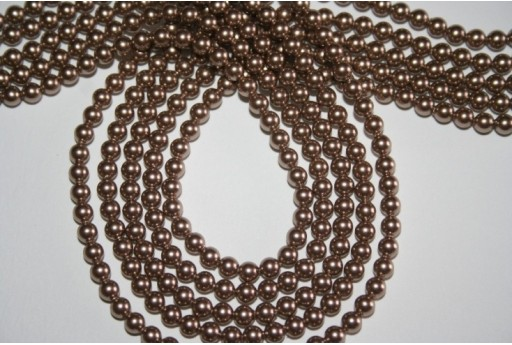 Swarovski Pearls Bronze 5810 4mm - 20pcs