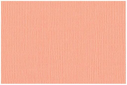 Cardstock Bazzill Mono Coral Cream 30x30cm 1 sheet