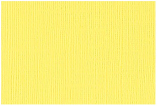 Cardstock Bazzill Mono Lemonade 30x30cm 1 sheet