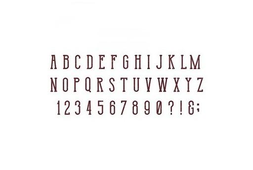 Fustella BigZ XL Alfabeto Broadway Tim Holtz Alterations Sizzix