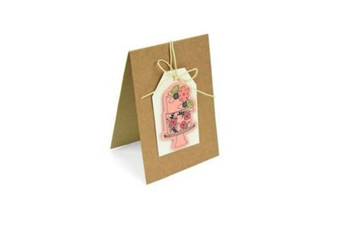 Set Fustelle Framelits + Timbro - Torta Floreale Sizzix