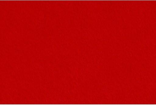 Soft Felt 1,5mm Red 45cm x 1mt