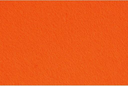 Pannolenci Feltro 1,5mm Arancione 45cm x 1mt