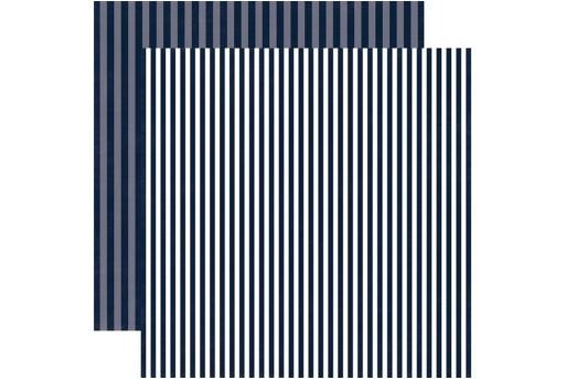 Carta Decorata Blu Night Sky Stripe Echo Park Paper Co. 30x30cm 1pz.