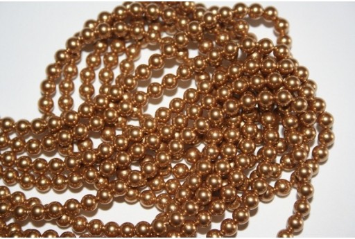 Perle Swarovski Bright Gold 5810 4mm - 20pz