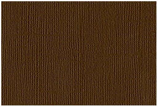Cartoncino Bazzill Mono Chocolate 30x30cm 1 foglio