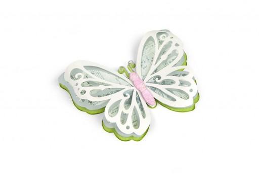 Fustelle Thinlits Farfalla Delicata Grande Sizzix