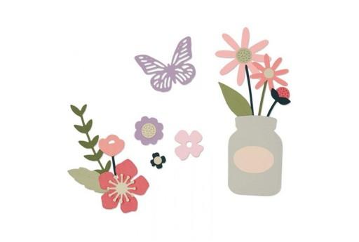 Thinlits Dies Garden Florals Sizzix
