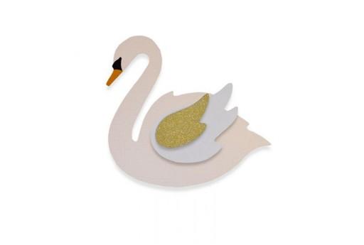 BigZ Die Swan Pete Hughes Sizzix
