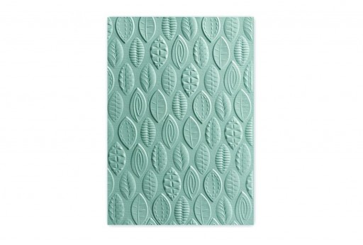 Embossing Folder Leaves 3-D Textured Impressions Sizzix