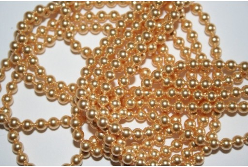 Perle Swarovski 5810 Gold 4mm - 20pz