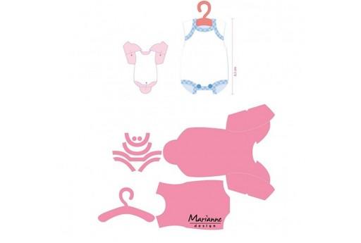 Fustelle Eline's Onesie Collectables Marianne Design
