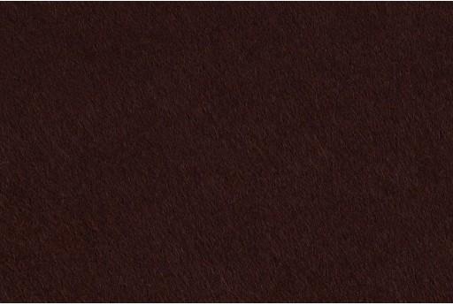 Soft Felt 1,5mm Dark Brown 45cm x 1mt