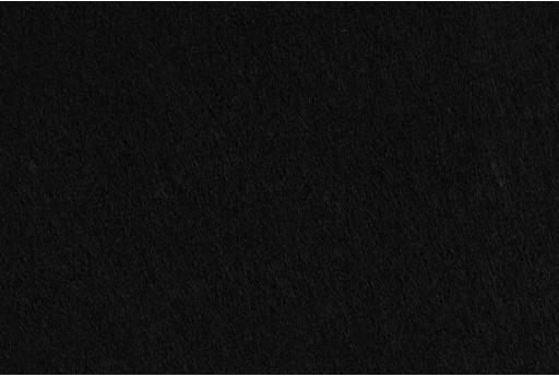 Soft Felt 1,5mm Black 45cm x 1mt