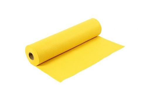 Soft Felt Roll Yellow 1,5mm 45cm x 5mt