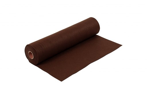 Soft Felt Roll Dark Brown 1,5mm 45cm x 5mt