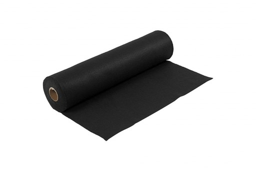 Soft Felt Roll Black 1,5mm 45cm x 5mt