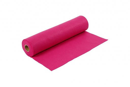 Soft Felt Roll Cerise Pink 1,5mm 45cm x 5mt